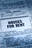 Houses For Rent Classifieds Stock Photos