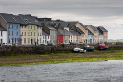 Houses in Galway Stock Photo