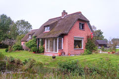 Houses with garden Stock Images