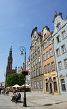 Houses in Gdansk Stock Images
