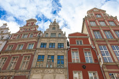 Houses in Gdansk, Poland Royalty Free Stock Images
