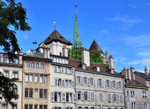 Houses of Geneva Royalty Free Stock Images