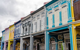 Houses of Georgetown – Penang, Malaysia Royalty Free Stock Photo