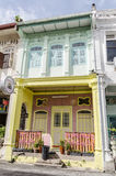 Houses of Georgetown – Penang, Malaysia Stock Photo