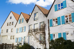 Houses in Germany Royalty Free Stock Photo