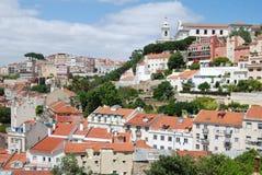 Houses of Graça, Lisbon Stock Photo