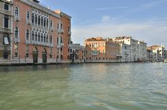 Houses in the Gran Canal Stock Photos