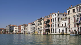 Houses on Grand Canal Royalty Free Stock Photo