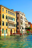 Houses at Grand Canal Stock Photos
