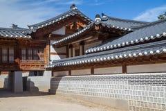 Houses in Gyeongbokgung Palace, Seoul, South  Korea Stock Photos