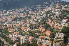 Houses on hill Royalty Free Stock Images