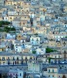 Houses on hillside Stock Photo