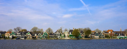 Houses Holland. Netherlands houses Holland scenery view Royalty Free Stock Photo