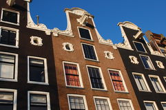 Houses in Holland , Amsterdam Europe Royalty Free Stock Image