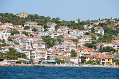 Houses and hotels on the Princes' Islands . Turkey Stock Photo