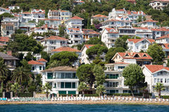 Houses and hotels on the Princes' Islands . Turkey Stock Images