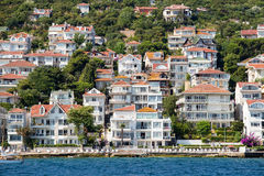 Houses and hotels on the Princes' Islands . Turkey Stock Photography