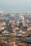 Houses and hotels in Sveti Vlas in Bulgaria Stock Photos