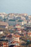 Houses and hotels in Sveti Vlas, Bulgaria Royalty Free Stock Photography