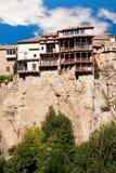 Houses hung (casas colgadas) in Cuenca, Castilla-La Mancha, Spai Stock Photography