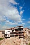 Houses hung (casas colgadas) in Cuenca, Castilla-La Mancha, Spai Stock Image