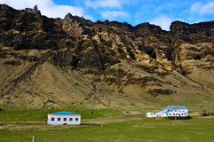 Houses iceland Stock Photography