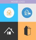 Houses icons set Royalty Free Stock Image