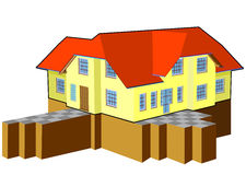 Houses ideas Royalty Free Stock Image