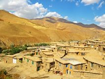 Free Houses In A Kurdish Village In Kurdistan Province Of Iran Stock Image - 183883761