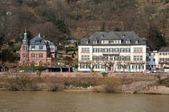Houses In Heidelberg, Germany Stock Photos