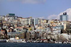 Houses in Istanbul Stock Photography
