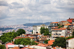 Houses of Istanbul Royalty Free Stock Images