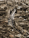 Houses in italian town Stock Image
