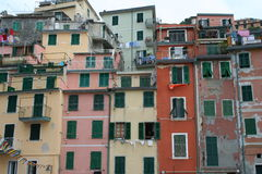 Houses in Italy Royalty Free Stock Photos