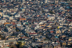 Houses in iwakuni Royalty Free Stock Photography
