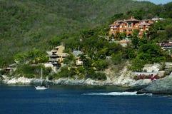 houses ixtapa Arkivfoto