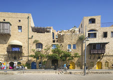 Houses in jaffa tel aviv israel Royalty Free Stock Photo