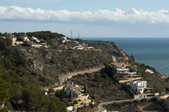 Houses in Javea Stock Photography