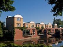 Houses in kattenbroek. Kattenbroek a modern housing estate in amersfoort, the netherlands Stock Photo