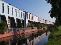 Houses in kattenbroek. Kattenbroek a modern housing estate in amersfoort, the netherlands Stock Image