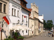 Houses in Kazimierz Dolny Poland Royalty Free Stock Images