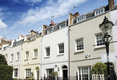 Houses in Knightsbridge, London Royalty Free Stock Photography