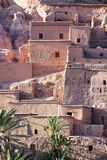 Houses of the Ksar Ait Ben Haddou. Houses of the Ksar and Kasbah Ait Ben Haddou. Detail view of the ksar Stock Photos