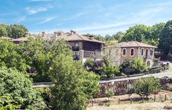 Houses of la Alberca Royalty Free Stock Photography