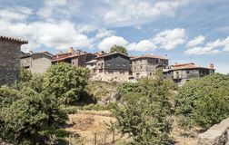 Houses of la Alberca Stock Photography