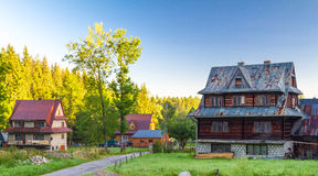 Zakopane houses Stock Photography