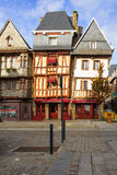 Houses in Lannion Stock Images