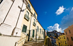 Houses in Lisbon Royalty Free Stock Photos