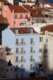 Houses in Lisbon Stock Images