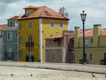 Houses in Lisbon Royalty Free Stock Image